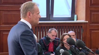 Ostrów Mazowiecka - Były premier i obecny przewodniczący Rady Europejskiej Donal