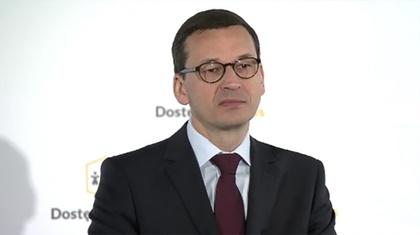 Ostrów Mazowiecka - Premier Mateusz Morawiecki zaprezentował zarys programu Dos