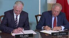 Ostrów Mazowiecka - Polska i Stany Zjednoczone podpisały umowę o współpracy nauk