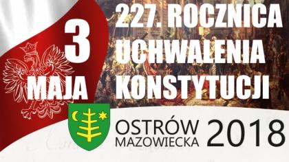 Ostrów Mazowiecka - Tegoroczne miejskie obchody Święta Narodowego Trzeciego Maja