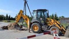 Ostrów Mazowiecka - W Broku powstaje nowa sieć kanalizacyjna. Prace pr