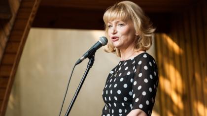 Ostrów Mazowiecka - Katarzyna Żak, aktorka filmowa i telewizyjna, zaprezentowała