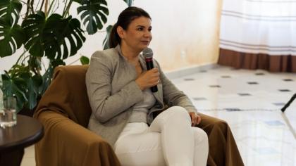 Ostrów Mazowiecka - Marta Zaborowska była gościem Zespołu Szkół Centrum Kształce