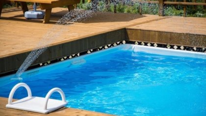 Ostrów Mazowiecka - Każde dziecko marzy o tym, aby mieć swój własny basen w ogro