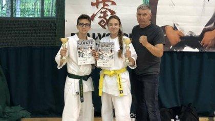 Ostrów Mazowiecka - Brokowscy zawodnicy karate wrócili z Białegostoku z dwoma me