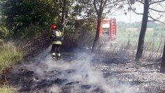 Ostrów Mazowiecka - Dwukrotnie interweniowali ostrowscy strażacy do pożaru stert