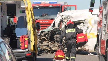 Ostrów Mazowiecka - Do groźnego wypadku drogowego doszło na trasie Ostrołęka-Łom