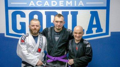 Ostrów Mazowiecka - Reprezentant ostrowskiej Academii Gorila Grzegorz Gamdzyk st
