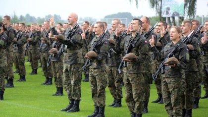 Ostrów Mazowiecka - W Komorowie działalność swoją rozpoczął batalion lekkiej pie
