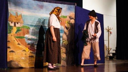 Ostrów Mazowiecka - Spektakl o ubogim rybaku mogli zobaczyć młodzi mieszkańcy Os