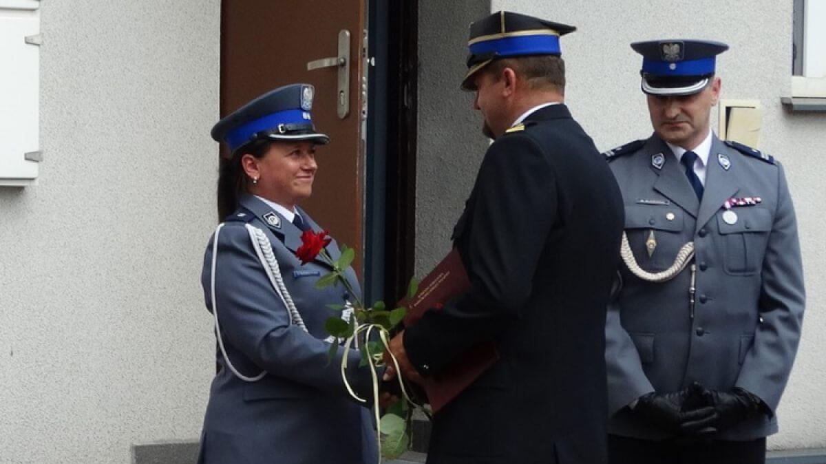 Ostrów Mazowiecka - Pełniąca od 2016 roku obowiązki zastępcy komendanta policji