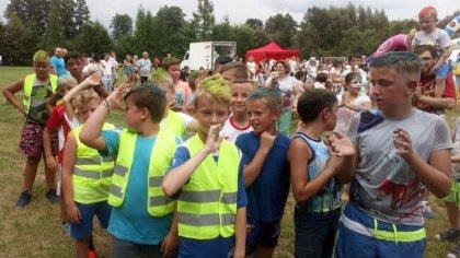 Ostrów Mazowiecka - Na terenie boiska szkolnego w Zakrzewie-Kopijkach (gmina Zar