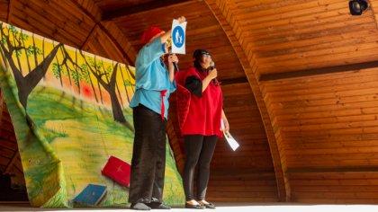 Ostrów Mazowiecka - Pouczającą bajkę o zasadach bezpieczeństwa zobaczyli najmłod