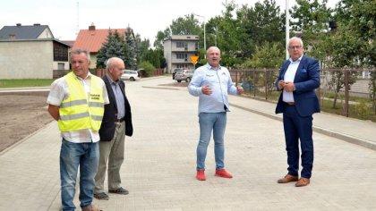 Ostrów Mazowiecka - Wyremontowaną ulicę Jana Kołłątaja w Broku oficjalnie odebra