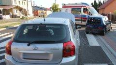 Ostrów Mazowiecka - Do zderzenia trzech samochodów osobowych doszło wc