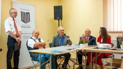 Ostrów Mazowiecka - Spotkanie historyczne z Andrzejem Pileckim, Ryszardem Ejchel