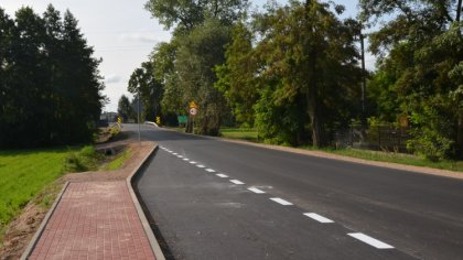 Ostrów Mazowiecka - Zakończono przebudowę drogi powiatowej na odcinku Stary Lubo