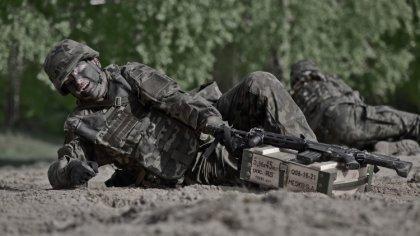 Ostrów Mazowiecka - Żołnierze 5 Mazowieckiej Brygady Obrony Terytorialnej złożą
