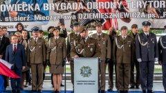 Ostrów Mazowiecka - Po 16 dniowym szkoleniu żołnierze 5 Mazowieckiej Brygady Woj