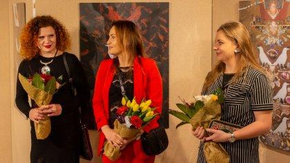 Ostrów Mazowiecka - Kilkadziesiąt osób wzięło udział w otwarciu galerii