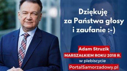 Ostrów Mazowiecka - Marszałek województwa mazowieckiego Adam Struzik, już po raz