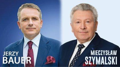 Ostrów Mazowiecka - Jerzy Bauer i Mieczysław Szymalski spotkali się na debacie p