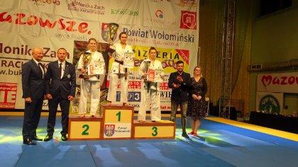 Ostrów Mazowiecka - Reprezentanci Ostrowskiego Klubu Karate Kyokushinkai bardzo