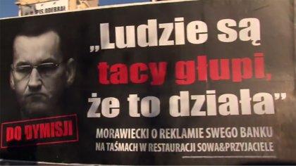 Ostrów Mazowiecka - Sprzed siedziby Prawa i Sprawiedliwości wyruszył