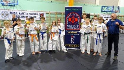 Ostrów Mazowiecka - Zawodnicy Ostrowskiego Klubu Karate Kyokushinkai wrócili z z