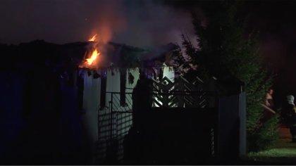 Ostrów Mazowiecka - Do pożaru dużej fermy trzody chlewnej doszło w miejscowości