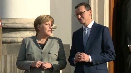 Ostrów Mazowiecka - Angela Merkel zapewniła, że jest zdolna do pełnienia obowiąz