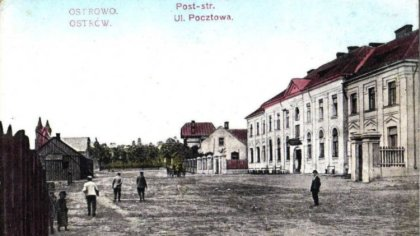 Ostrów Mazowiecka - Przedstawiamy ilustrację Ostrowi Mazowieckiej datowaną na dw