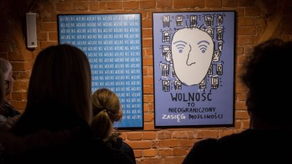 Ostrów Mazowiecka - W budynku Jatek odbyło się wczoraj otwarcie wystawy pn.