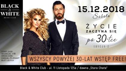 Ostrów Mazowiecka - W najbliższą sobotę 15 grudnia, klub muzyczny Black & Wh