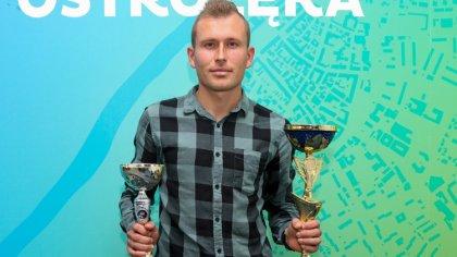 Ostrów Mazowiecka - Przemysław Dąbrowski to zawodnik, który przyzwyczaił kibiców