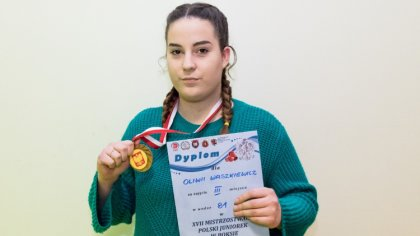 Ostrów Mazowiecka - Oliwia Waszkiewicz to bardzo utalentowana pięściarka Victori