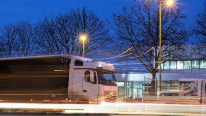 Ostrów Mazowiecka - Kierowcy składów ciężarowych jeżdżą na trasach międzynarodow