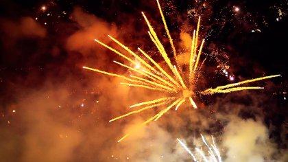 Ostrów Mazowiecka - Kolejna dawka zdjęć i fajerwerki w zwolnionym tempie, zobacz