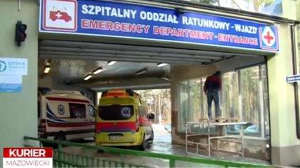 Ostrów Mazowiecka - Oddział ratunkowy szpitala w Ostrowi Mazowieckiej przechodzi
