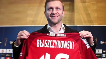 Ostrów Mazowiecka - Powrót Jakuba Błaszczykowskiego do Wisły Kraków odbił się sz