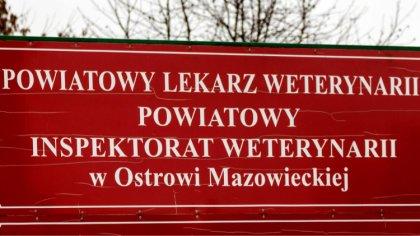 Ostrów Mazowiecka - W piątek 1 lutego br. z funkcji Powiatowego Lekarza Weteryna