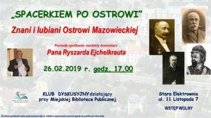 Ostrów Mazowiecka - We wtorek 26 lutego przy ulicy 11 Listopada 7 w budynku star