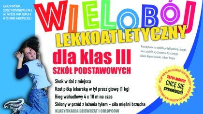 Ostrów Mazowiecka - W hali sportowej Szkoły Podstawowej nr 2 im. Papieża Jana Pa