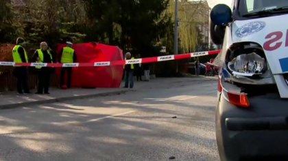Ostrów Mazowiecka - Jadąca na sygnale karetka potrąciła dziecko w Pruszkowie pod