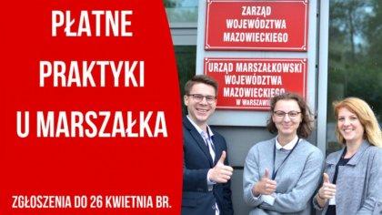 Ostrów Mazowiecka - Właśnie ruszyła kolejna edycja programu Praktyki u Marszałka