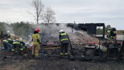Ostrów Mazowiecka - Dach nad głową straciła rodzina państwa Baranowskich z miejs