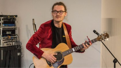 Ostrów Mazowiecka - Ostrołęcki gitarzysta Michał Łoniewski zaprezentował swoje u