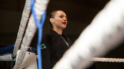 Ostrów Mazowiecka - Joanna Zabulewicz, reprezentantka Złomiarza Team Gdańsk, oka
