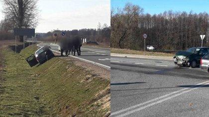 Ostrów Mazowiecka - Do zderzenia dwóch pojazdów doszło dziś rano w Treblince (gm