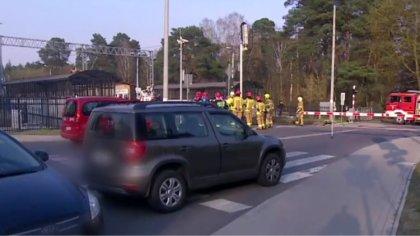 Ostrów Mazowiecka - W miejscowości Puszczykowo koło Poznania pociąg uderzył w ka